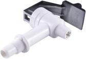 Grey cold/warm water valve